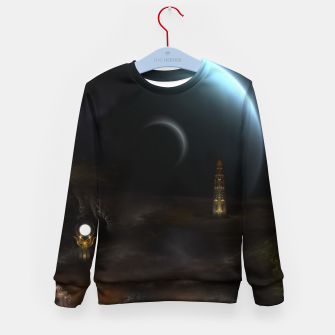 Thumbnail image of Unknown Frontiers Sci-Fi Exploration Kid's sweater, Live Heroes