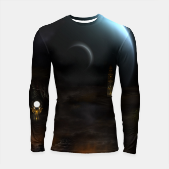 Thumbnail image of Unknown Frontiers Sci-Fi Exploration Longsleeve rashguard , Live Heroes
