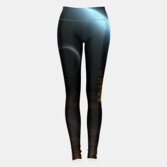 Thumbnail image of Unknown Frontiers Sci-Fi Exploration Leggings, Live Heroes