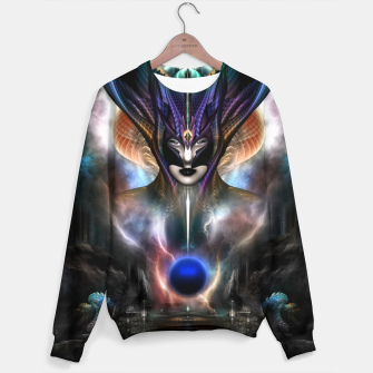 Thumbnail image of Taidushan Sai Spirit Of Power WD Fractal Portrait Sweater, Live Heroes