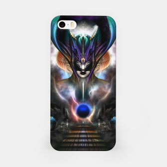Thumbnail image of Taidushan Sai Spirit Of Power WD Fractal Portrait iPhone Case, Live Heroes