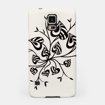 Abstract Flower With Pointy Leaves Samsung Case thumbnail image