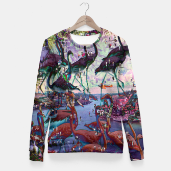 Thumbnail image of Collage LXV Fitted Waist Sweater, Live Heroes