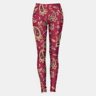 Thumbnail image of Paisley in Gold Leggings, Live Heroes