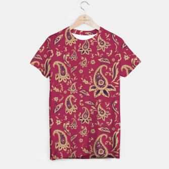 Thumbnail image of Paisley in Gold T-shirt, Live Heroes