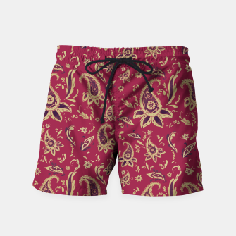Thumbnail image of Paisley in Gold Swim Shorts, Live Heroes