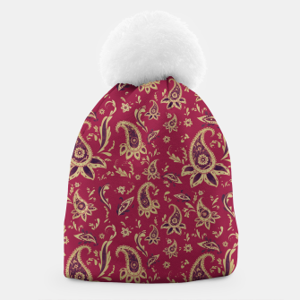 Thumbnail image of Paisley in Gold Beanie, Live Heroes