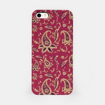 Thumbnail image of Paisley in Gold iPhone Case, Live Heroes