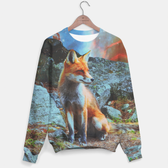 Thumbnail image of Space fox Sweater, Live Heroes