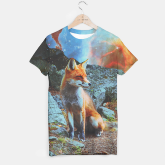 Thumbnail image of Space fox T-shirt, Live Heroes