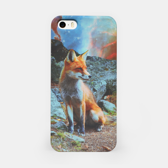 Thumbnail image of Space fox iPhone Case, Live Heroes