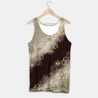 Thumbnail image of Japanese traditional family emblem art red gold Tank Top, Live Heroes