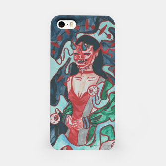 Thumbnail image of You should fear me  iPhone Case, Live Heroes