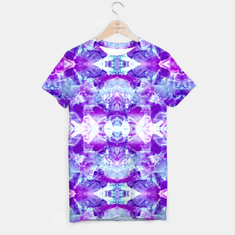 Thumbnail image of Mosaic of violet crystals Camiseta, Live Heroes