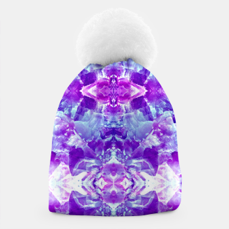 Thumbnail image of Mosaic of violet crystals Gorro, Live Heroes