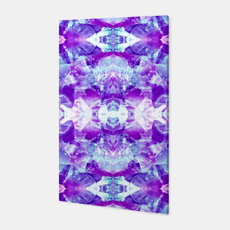 Thumbnail image of Mosaic of violet crystals Canvas, Live Heroes