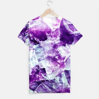 Thumbnail image of Ultra violet crystal detail Camiseta, Live Heroes