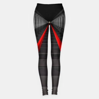 Thumbnail image of The Light At The Far End Of The Tracks Leggings, Live Heroes