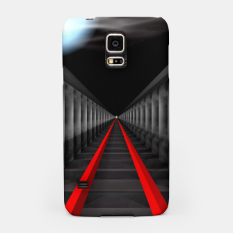 Thumbnail image of The Light At The Far End Of The Tracks Samsung Case, Live Heroes