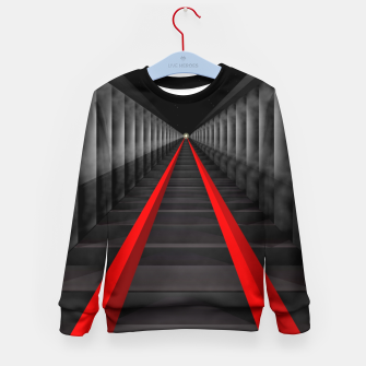 Thumbnail image of The Light At The Far End Of The Tracks Kid's Sweater, Live Heroes