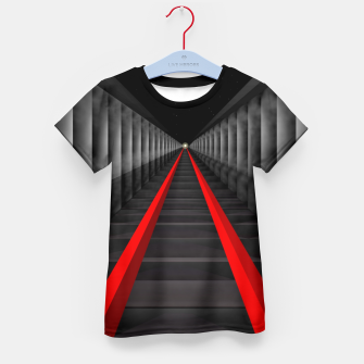 Thumbnail image of The Light At The Far End Of The Tracks Kid's T-shirt, Live Heroes