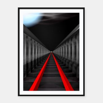 Thumbnail image of The Light At The Far End Of The Tracks Framed poster, Live Heroes