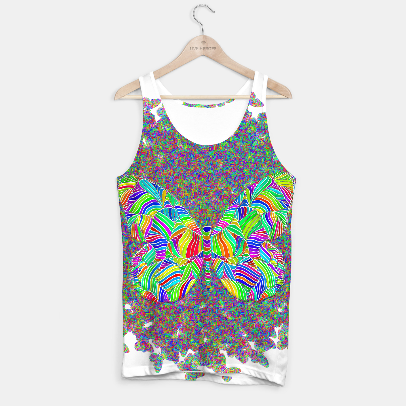 Image of btf Tank Top - Live Heroes