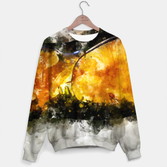 Thumbnail image of Forest Yellow Mushroom Sweater, Live Heroes