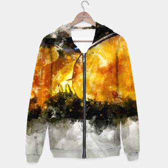 Thumbnail image of Forest Yellow Mushroom Hoodie, Live Heroes