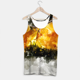 Thumbnail image of Forest Yellow Mushroom Tank Top, Live Heroes