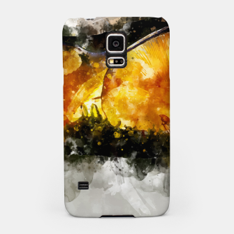 Thumbnail image of Forest Yellow Mushroom Samsung Case, Live Heroes