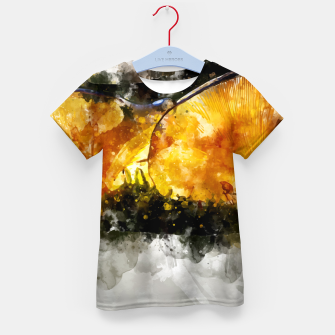 Thumbnail image of Forest Yellow Mushroom Kid's T-shirt, Live Heroes