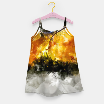 Thumbnail image of Forest Yellow Mushroom Girl's Dress, Live Heroes