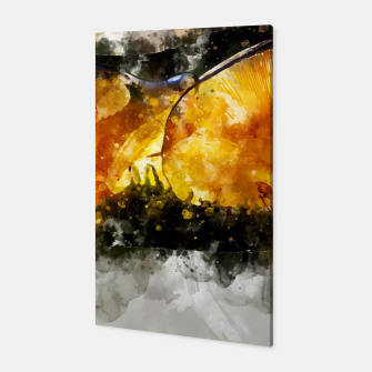 Thumbnail image of Forest Yellow Mushroom Canvas, Live Heroes