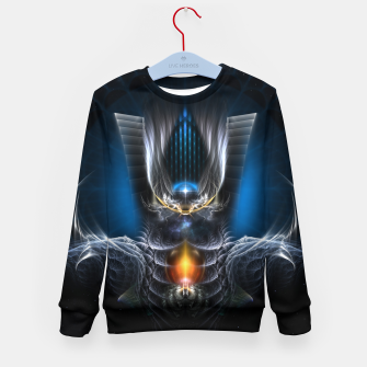 Thumbnail image of Kydirin The Symbol Of Atophos Kid's Sweater, Live Heroes