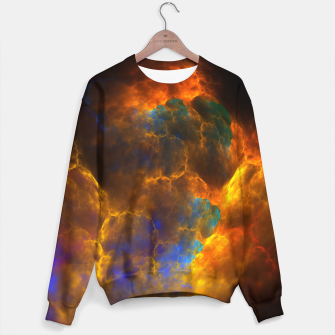 Thumbnail image of Nebula Of Fire Sweater, Live Heroes