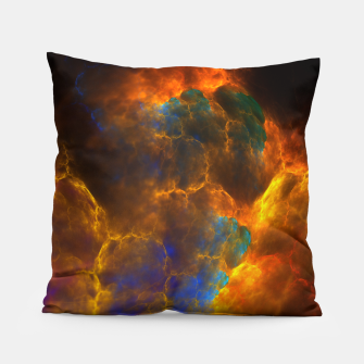 Thumbnail image of Nebula Of Fire Pillow, Live Heroes