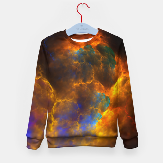 Thumbnail image of Nebula Of Fire Kid's Sweater, Live Heroes