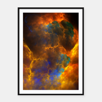 Thumbnail image of Nebula Of Fire Framed poster, Live Heroes