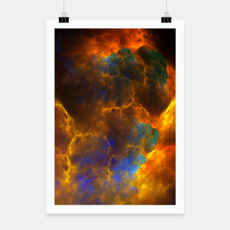Thumbnail image of Nebula Of Fire Poster, Live Heroes