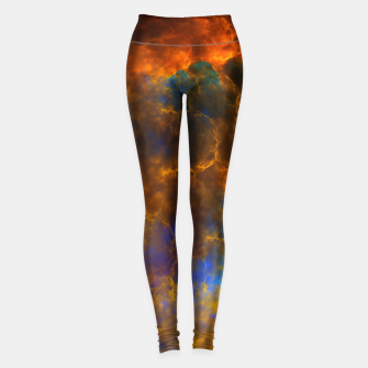 Thumbnail image of Nebula Of Fire Leggings, Live Heroes