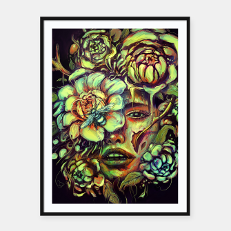 Thumbnail image of Pollinate Framed poster, Live Heroes