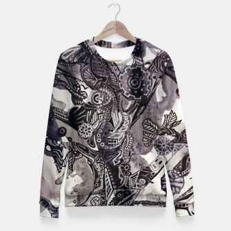 Thumbnail image of Teapunk tree Fitted Waist Sweater, Live Heroes