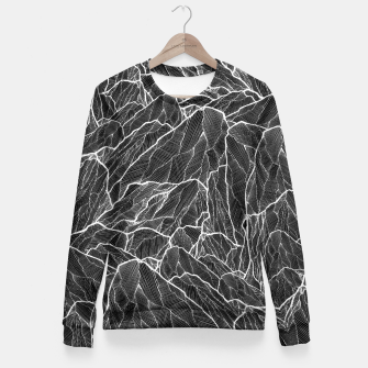 Miniatur The dark mountains 2  Fitted Waist Sweater, Live Heroes