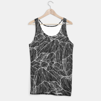 Miniatur The dark mountains 2  Tank Top, Live Heroes