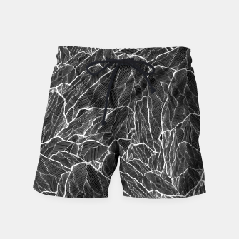 Miniatur The dark mountains 2  Swim Shorts, Live Heroes