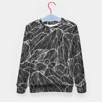 Miniatur The dark mountains 2  Kid's Sweater, Live Heroes