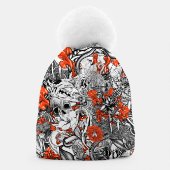 Thumbnail image of Sixth Mix Black Beanie, Live Heroes