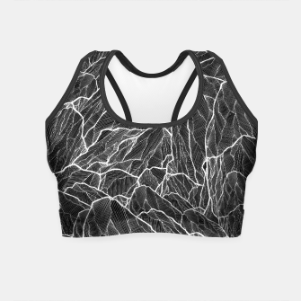 Miniatur The dark mountains 2  Crop Top, Live Heroes