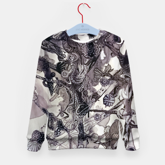Thumbnail image of Teapunk tree Kid's Sweater, Live Heroes